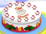 Game Christmas Cake Decoration