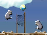 Play Mole Volleyball free