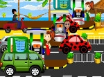 Play Beetle And BMW At Fuel Station free