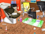 Play Beauty Parlour Clean Up free