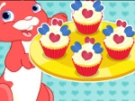 Play Cute Heart Cupcakes free