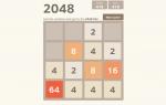 Play 2048 free
