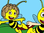 Game The Bee Coloring
