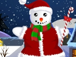 Play Snow Man Xmas Dress up free