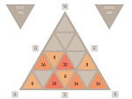 Game Triangular 2048