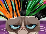Play Grumpy Cat Hair Salon free
