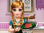 Game Frozen: Anna Real Cooking