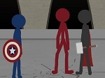 Play Stickman in The Avengers free