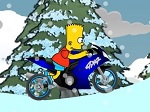 Game Bart Snow Ride