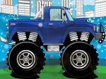 Game Monster Truck Wash And Repair
