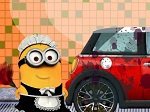 Play Minion Car Wash free