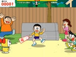 Game Japanese Badmington Doraemon