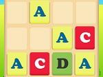 Game 4096 Alphabet
