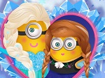 Play Minions Frozen Design free