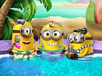 Play Minions Pool Party free