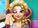 Play Elsa Eye Treatment free