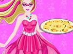 Play Super Barbie Special Pierogi Pizza free